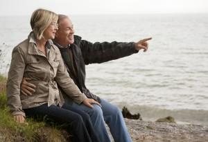 Older Couple Beach