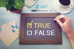 True False Chalk